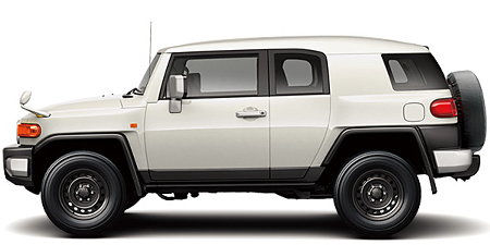TOYOTA FJ CRUISER BLACK COLOR PACKAGE