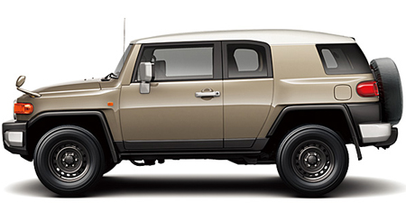 TOYOTA FJ CRUISER COLOR PACKAGE